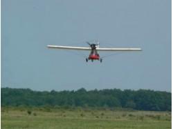 Flying lesson in Drobeta Turnu Severin
