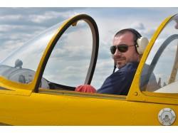 Flying lesson in Bacau