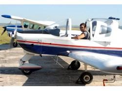 Scenic airplane flight in Galati