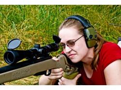 Initiation in target shooting in Gura Humorului