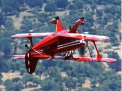 Aerobatic flight in Timisoara