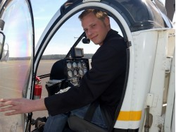 Helicopter flying lesson in Brasov