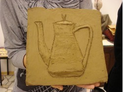 Clay carving- Introductory course in Bucharest
