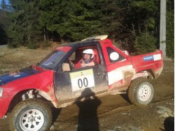 Experience with a rally car in Baia Mare