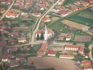 Scenic airplane flight in Satu Mare