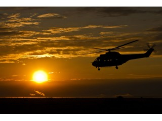 Chasing the Sunset – Helicopter flight for 2 in Brasov