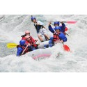 Whitewater rafting on Jiu river for 6