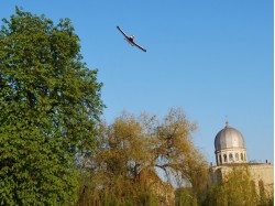 Scenic flight with guests in Oradea