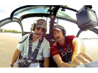 Helicopter flying lesson in Bucharest