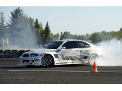 Drifting lesson in Timisoara