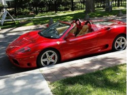 Drive a Ferrari in Bucharest