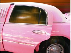 Party Ride with a PINK limousine