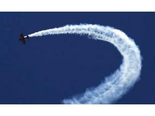 Aerobatic flight in Sibiu