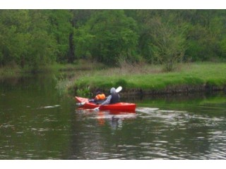 Kayaking for couples on Neajlov River