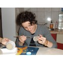 Ceramic painting- Introductory course in Bucharest