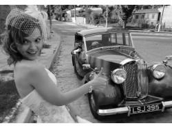 Ride in a vintage car in Brasov