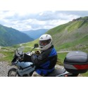 Motorcycle ride in Transylvania with a BMW F650