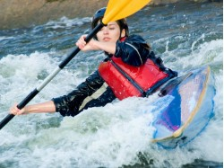 Kayak Racing for 2 in Bucharest