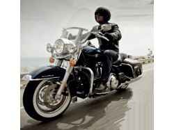 Harley Davidson experience for her in Sibiu