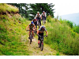 Heli biking in Brasov for 2