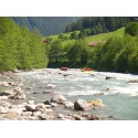 Whitewater rafting on Jiu river