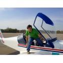 Scenic flight in Bucharest