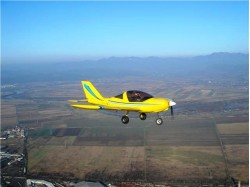 Scenic flight in Pitesti