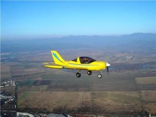 Scenic flight in Pitesti