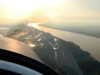 Scenic flight in Braila